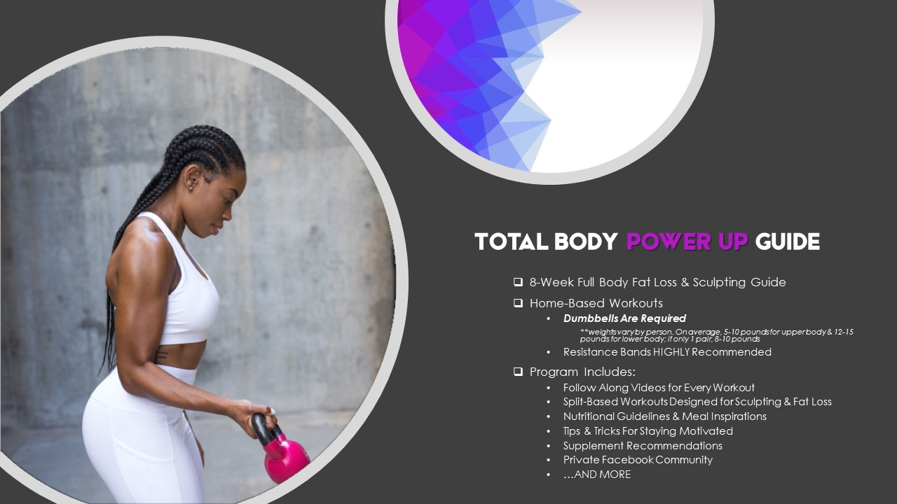 Total Body Power Up Guide Learn More